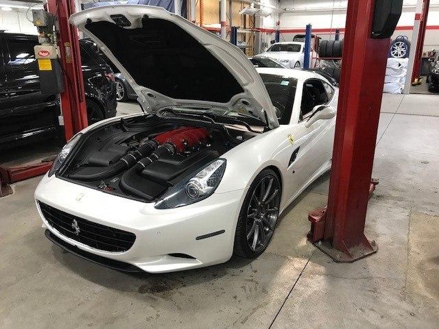 Ferrari Oil Change