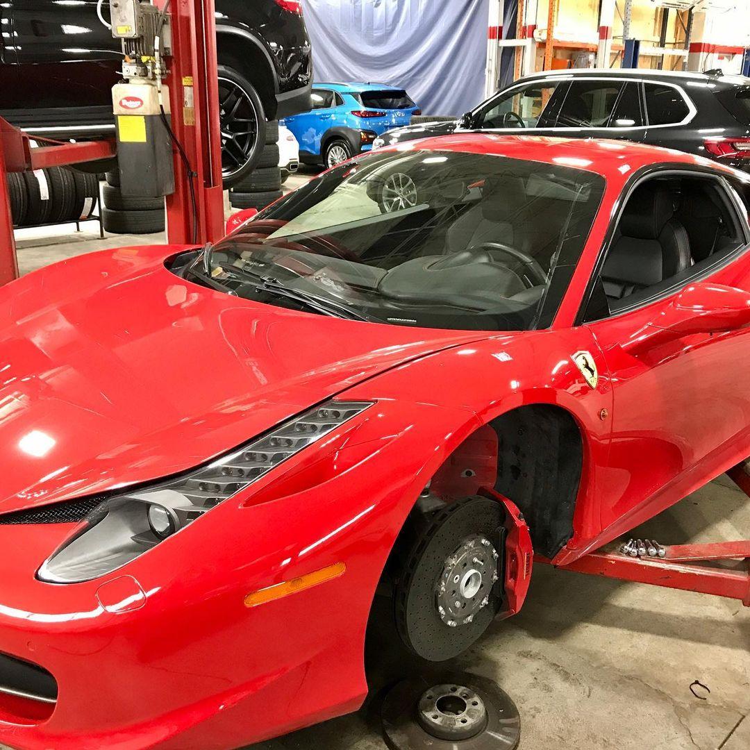 Ferrari Brake Service