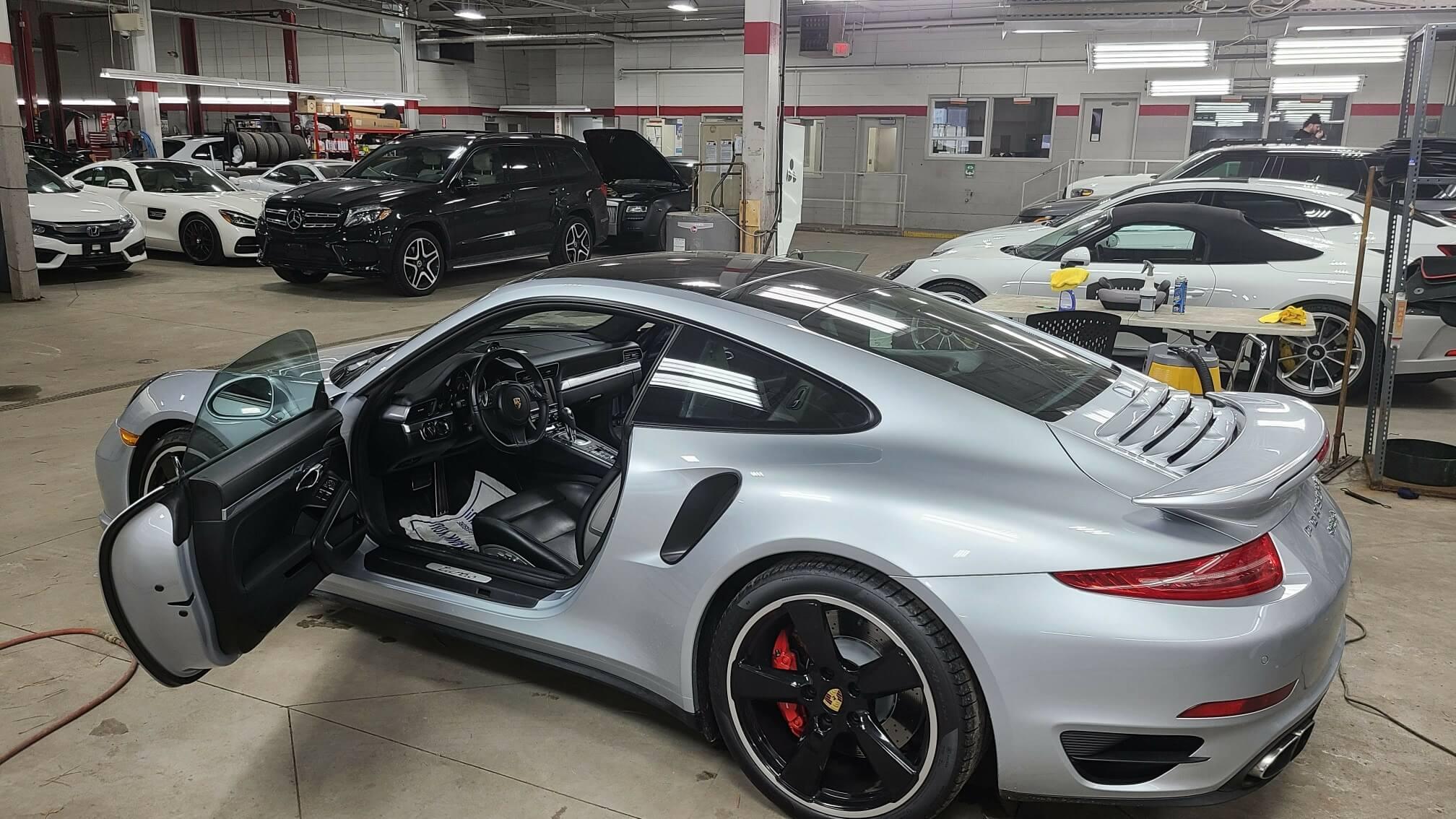 Porsche 911 Detailing
