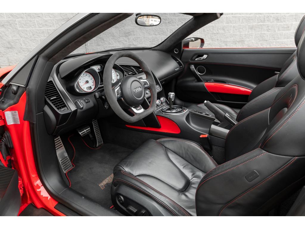 2012 Audi R8 GT Spyder Driver Interior View