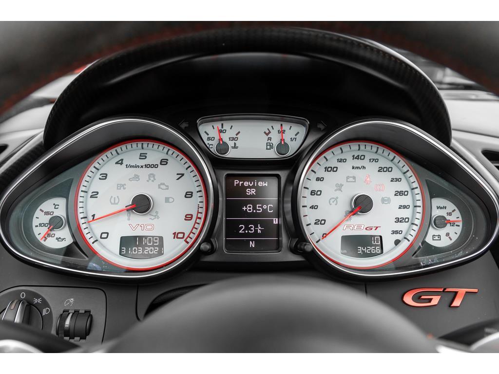 2012 Audi R8 GT Spyder Guage Cluster