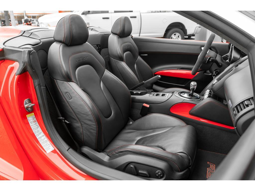 2012 Audi R8 GT Spyder Passenger Interior View