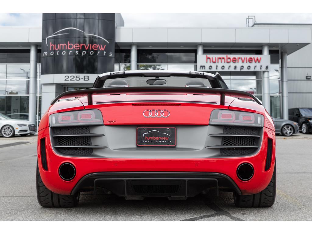 2012 Audi R8 GT Spyder Rear End