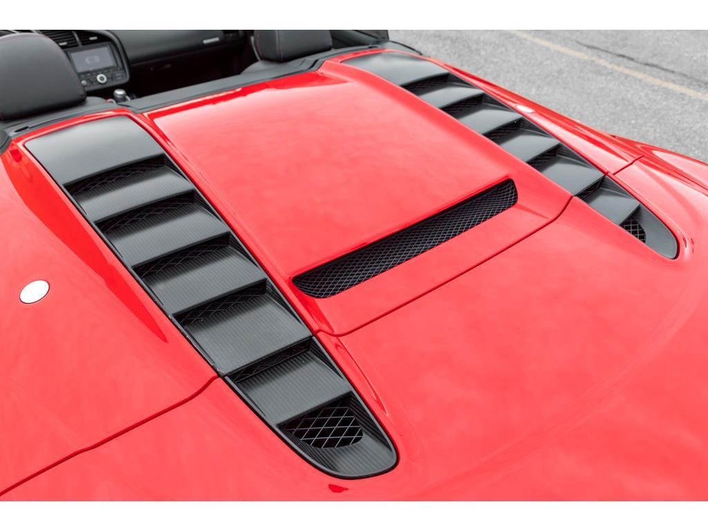 2012 Audi R8 GT Spyder Rear Engine Hood