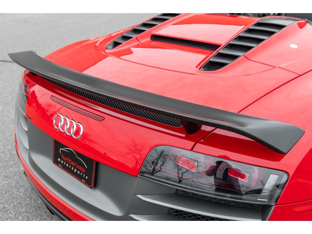 2012 Audi R8 GT Spyder Rear Truck Spoiler