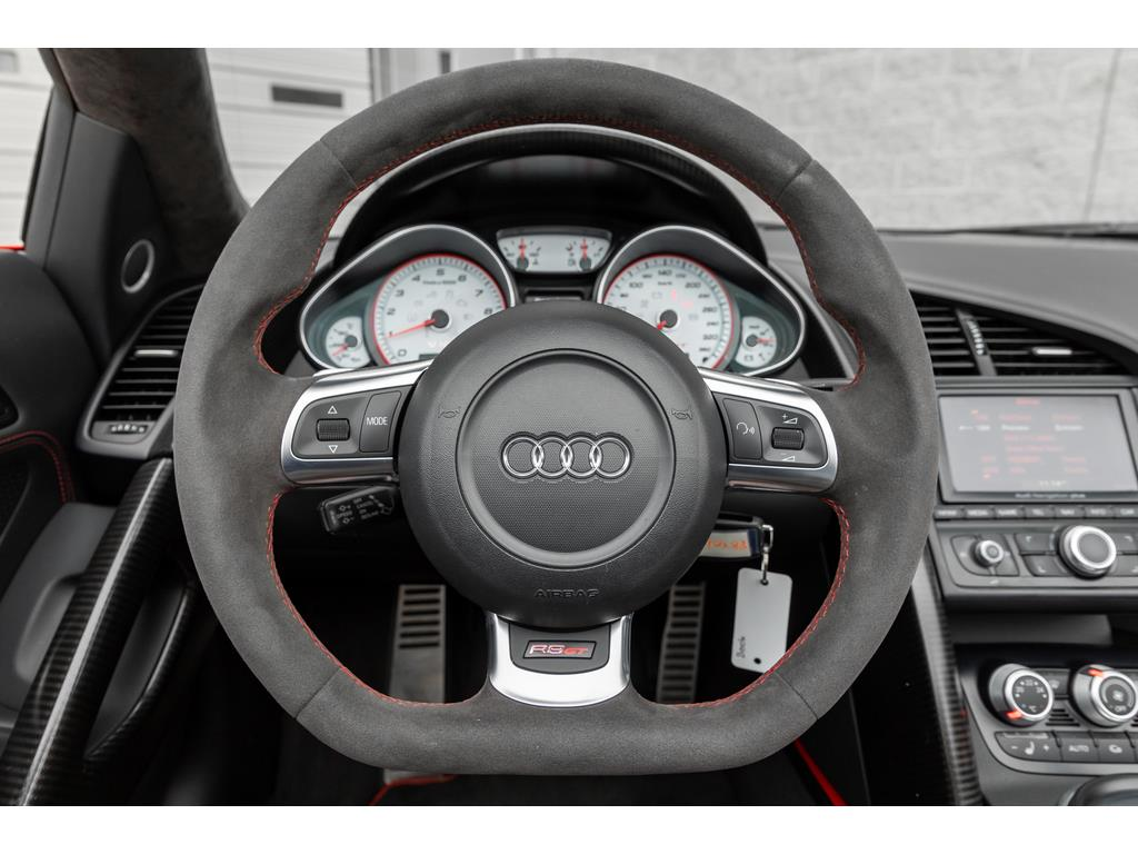 2012 Audi R8 GT Spyder Steering Wheel