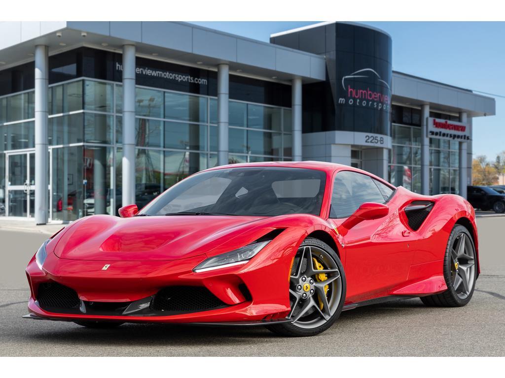 2020 Ferrari F8 Tributo Front Quarter