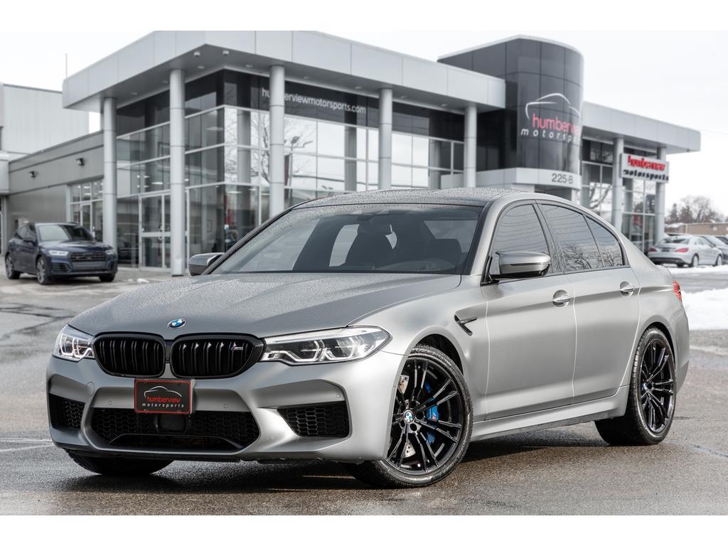 2018 BMW M5 Front Quarter