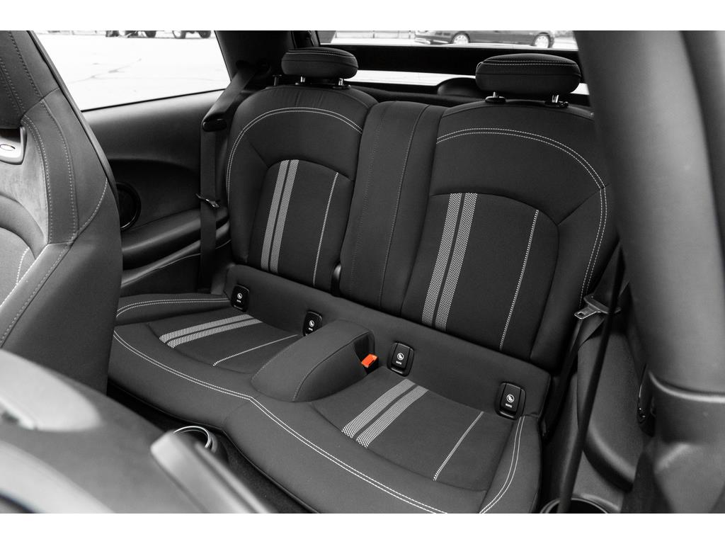 2019 Mini 3 Door Rear Seat