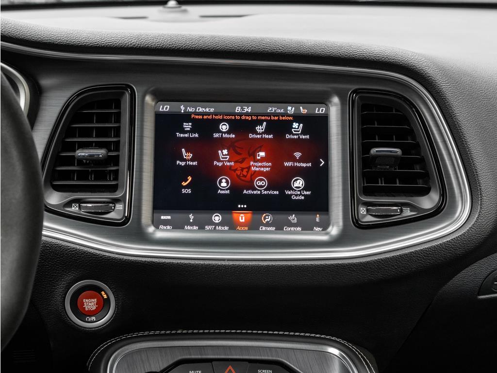 2018 Dodge Challenger Center Console