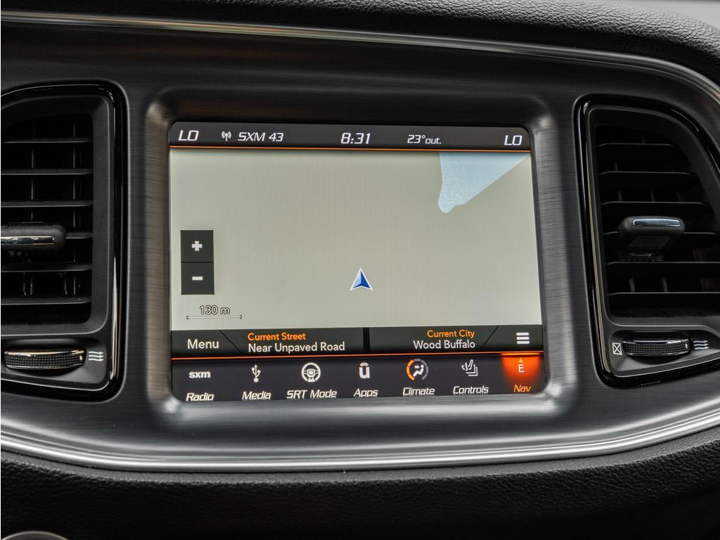2018 Dodge Challenger Navigation System
