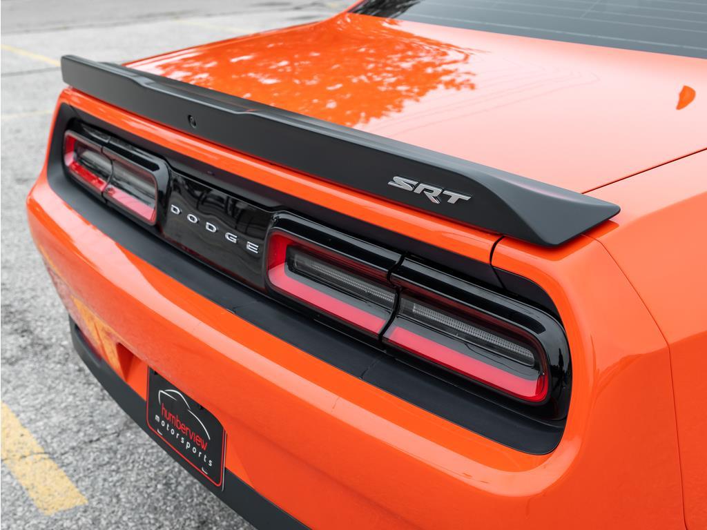 2018 Dodge Challenger Rear Trunk Spoiler