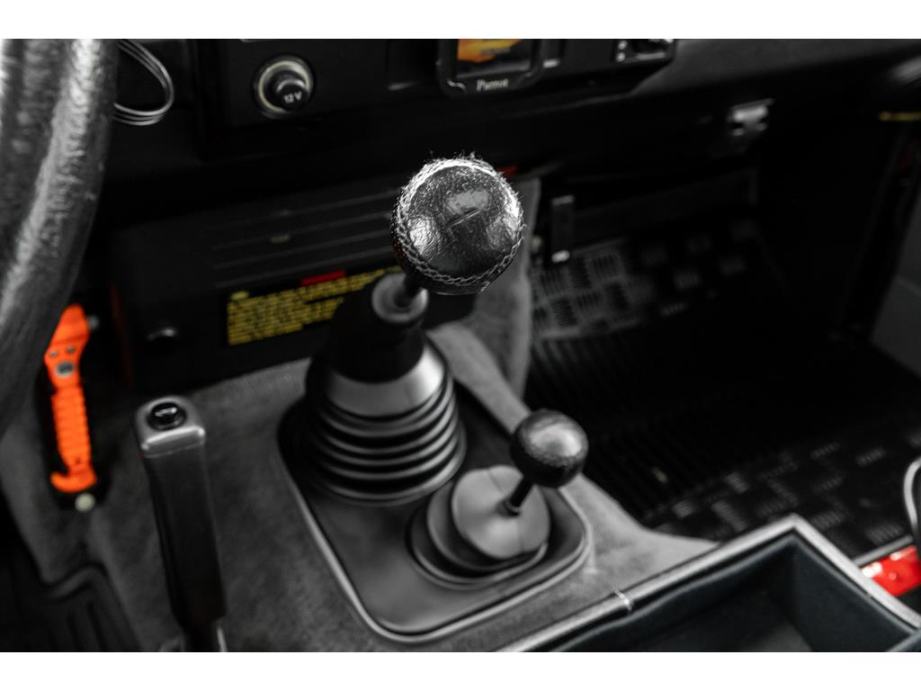 2002 Land Rover Defender Gearshift