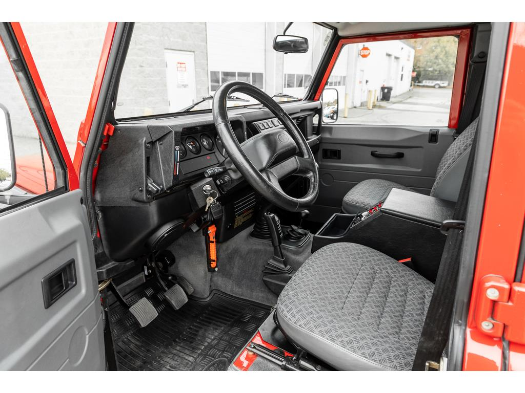 2002 Land Rover Defender Interior Driver View