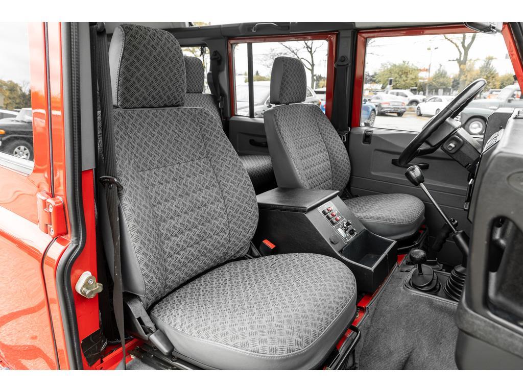 2002 Land Rover Defender Interior Passenger View