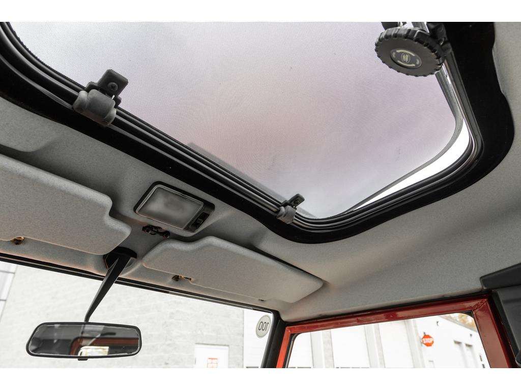 2002 Land Rover Defender Panormaic Sunroof