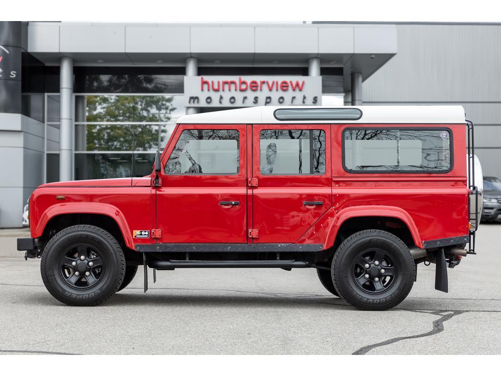 2002 Land Rover Defender Side Left Profile