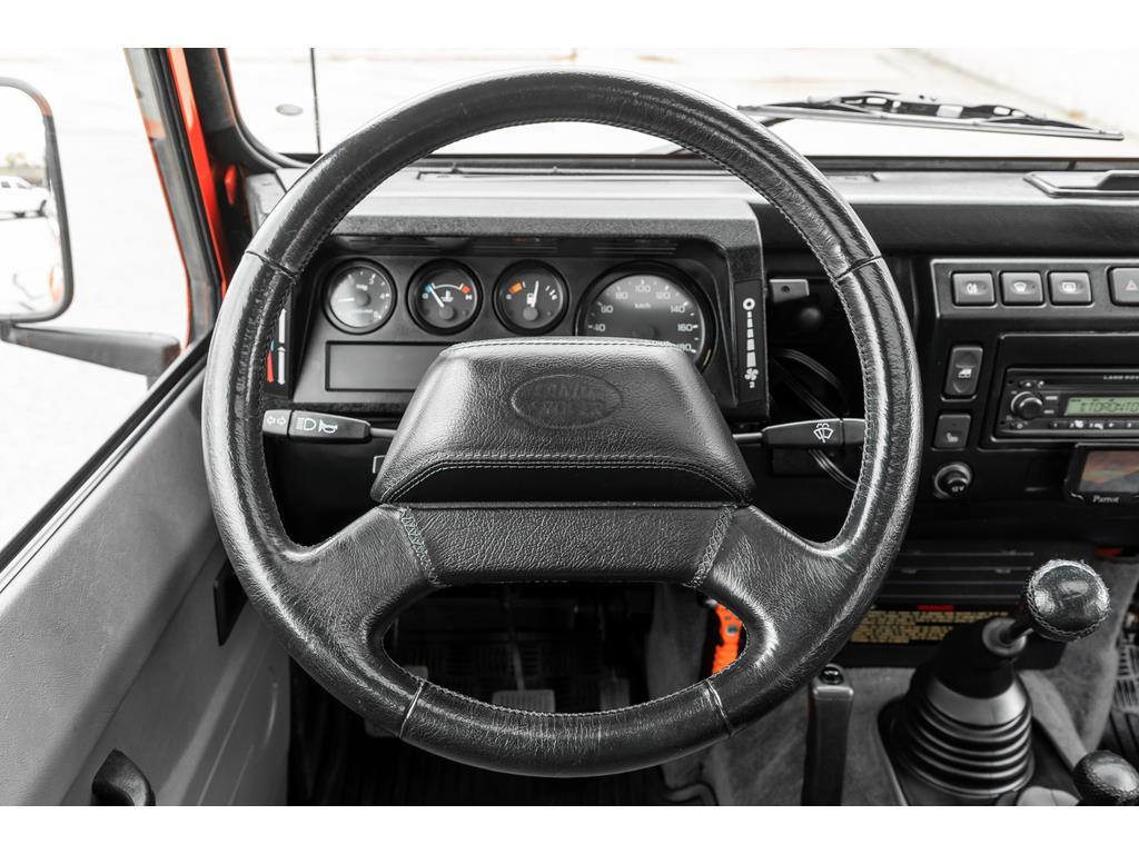 2002 Land Rover Defender Steering Wheel