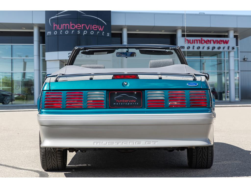 1993 Ford Mustang GT Rear End
