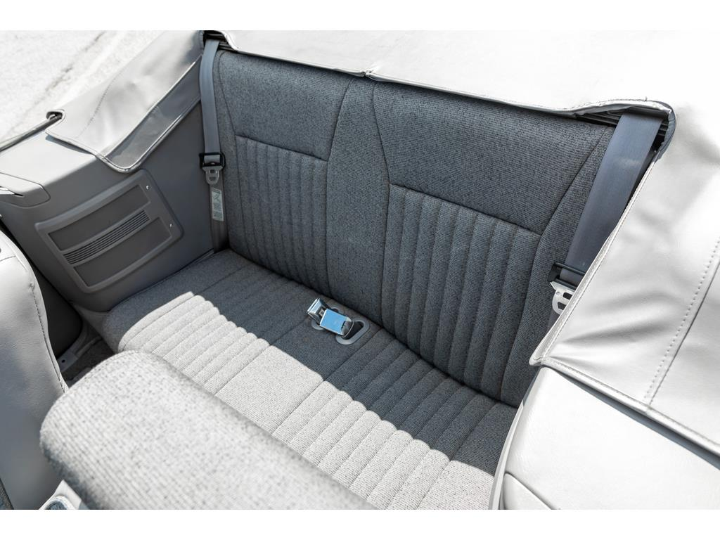 1993 Ford Mustang GT Rear Seat