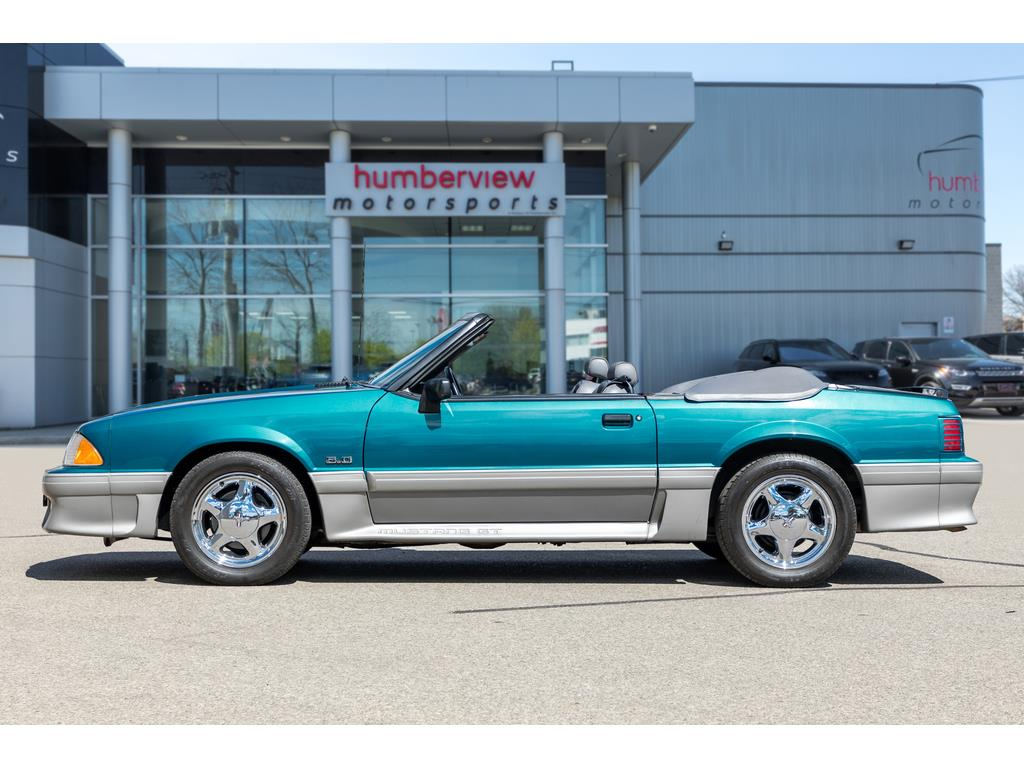1993 Ford Mustang GT Side Left Profile