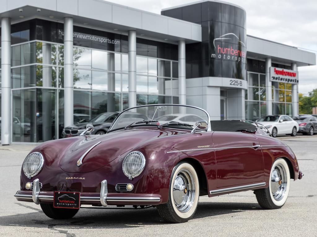 1958 Porsche 356 Speedster Front Quarter
