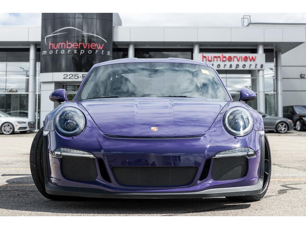 2016 Porsche 911 GT3 RS Front End