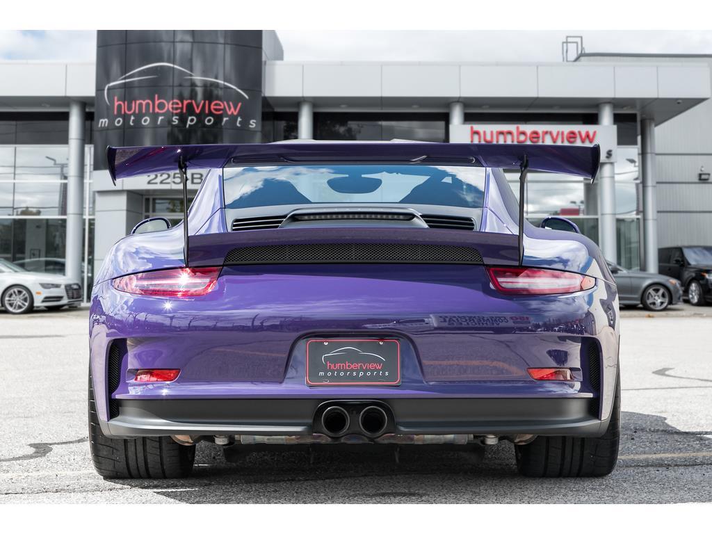 2016 Porsche 911 GT3 RS Rear End