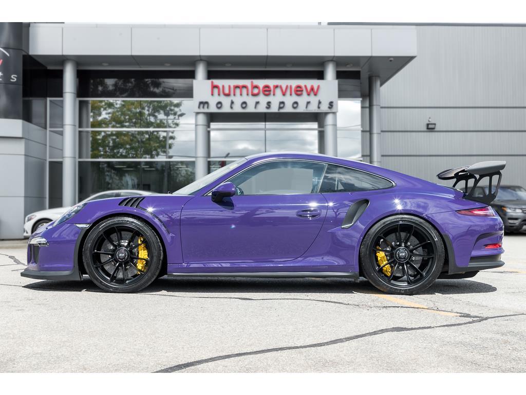 2016 Porsche 911 GT3 RS Side Left Profile